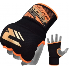 Бинт-перчатка RDX Inner Gel Black/Orange