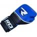 Боксерские перчатки RDX Quad Kore Blue 16oz