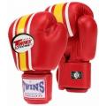 Боксерские перчатки Twins FBGV-3 Red 10oz.