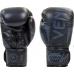 Боксерские перчатки кожа Venum Elite Neo Black