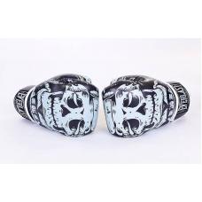 Боксерские перчатки Flex Everlast Skull BO-5493-BK