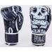 Боксерские перчатки Everlast Skull Black
