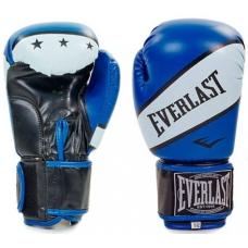 Перчатки боксерские Everlast Super Star Blue 10oz