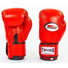Перчатки боксерские TWINS VL-6631-R