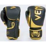 Боксерские перчатки Venum BO-8352-BKG 10oz