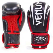 Перчатки боксерские VENUM SHARP MA-5315-BK 10oz