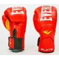 Перчатки боксерские кожа Everlast MA-6758-R 10oz,12oz