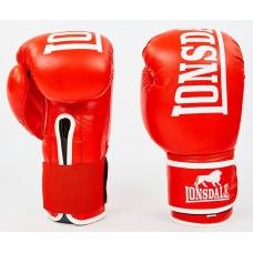 Перчатки боксерские LONSDALE MA-6760-R