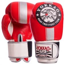 Перчатки боксерские YOKKAO YK016-R