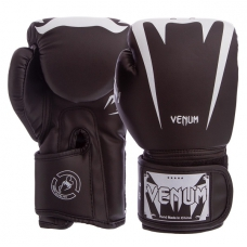 Боксерские перчатки Venum BO-8349-BK 10oz