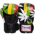 Перчатки боксерские кожаные TWINS VL-2057 10-12 унций