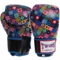 Перчатки боксерские кожаные TWINS VL-2058 10-12 унций