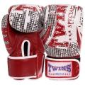 Перчатки боксерские кожаные TWINS VL-2066-R 10-12 унций