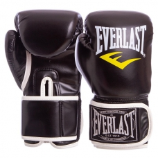 Боксерские перчатки Everlast BO-3987-BK 12oz