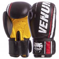 Перчатки боксерские VENUM MA-6749-BKY