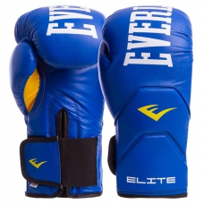 Перчатки боксерские кожа Everlast MA-6758-B 12oz