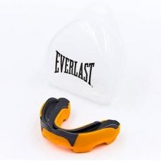 Капа боксерская односторонняя (одночелюстная) двухкомпонентная в футляре Everlast EVERGEL 1400009-R (L)