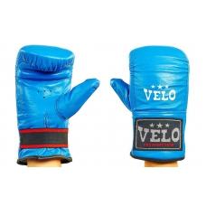 Снарядные перчатки Кожа VELO ULI-4005-B