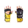 Перчатки MMA Кожа MATSA Black 7oz