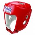 Боксерский шлем Twins HGL-4 Red (S, L, XL)