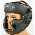 Шлем боксерский с полной защитой Venum BO-7041-BK (L)