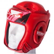 Шлем боксерский открытый BAD BOY BD09-R (M,L,XL)