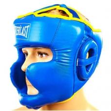 Шлем боксерский с полной защитой Everlast BO-6001-B (M, L)