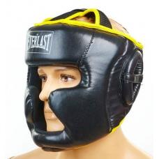 Шлем боксерский с полной защитой Everlast BO-6001-BK (M, L)