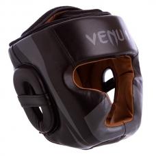 Боксерский шлем с полной защитой Venum BO-5239-BK