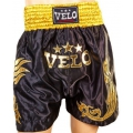 Шорты для тайского бокса Velo Black (XL)