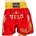 Шорты для тайского бокса Velo Red