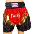 Шорты для тайского бокса TWINS ZB-6141-R (XL)
