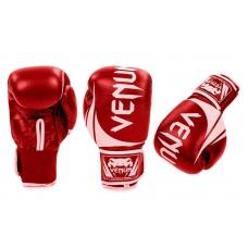 Боксерские перчатки Venum Challenger 2.0 Red (replika, кожа)