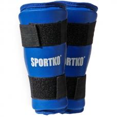 Защита голени SportKO Blue