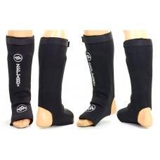 Защита голени и стопы Zelart Neoprene Black