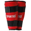 Защита голени SportKO Red