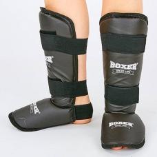 Защита голени и стопы Boxer 2002-BK