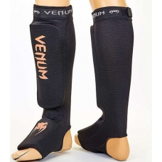 Защита ног для тайского бокса Venum MA-6239-BKO