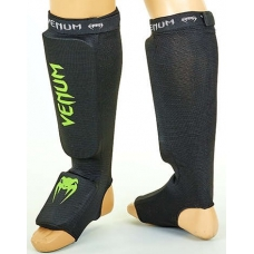 Защита ног для тайского бокса Venum MA-6239-BKG