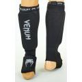 Защита ног для тайского бокса Venum MA-6239-BKW (XS)