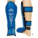 Защита голени и стопы Everlast Blue (кожа)