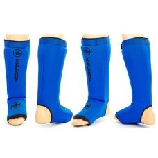 Защита голени и стопы Zelart Neoprene Blue